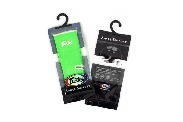 Fairtex-Ankle Support-Green/White