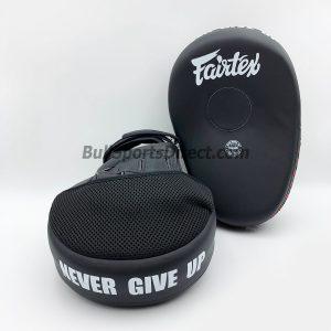 Fairtex FMV13 Solid Black Focus Mitts