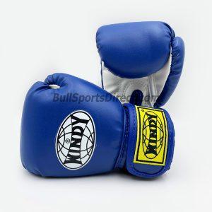 Windy Blue Boxing Gloves BGVH+K