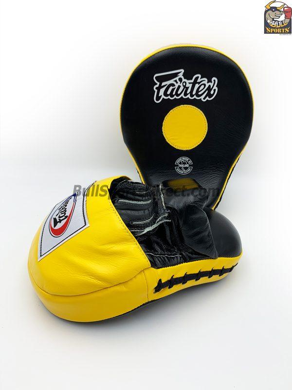 Fairtex FMV9 Black/Yellow Focus Mitts