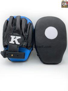 K-Focus Mitts-Small-Black/Light Blue