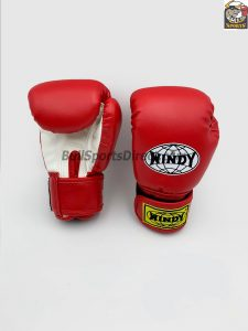 Windy Red Boxing Gloves BGVH+K