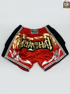 Retro Muay Thai Shorts-Top King