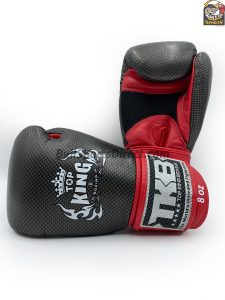 Black and red Top King Boxing Gloves Empower 02