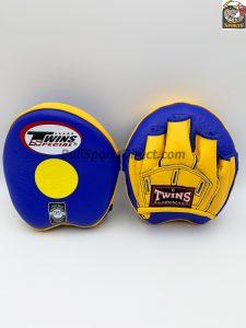 Twins-PML-13 Punching Mitts-Blue/Yellow