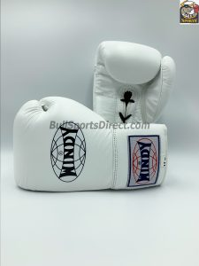 Windy Muay Thai White Boxing Gloves