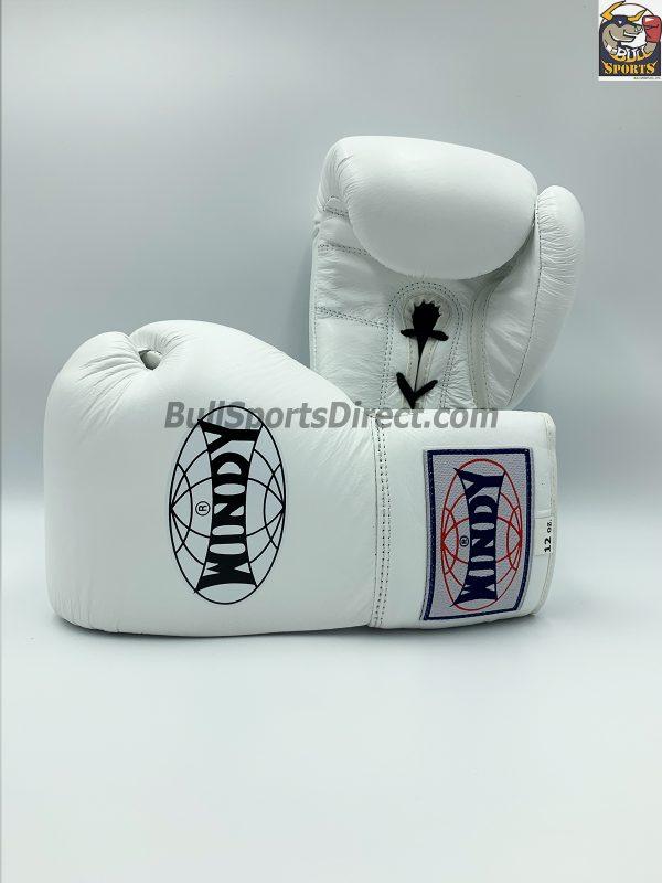 Windy Muay Thai White Boxing Gloves