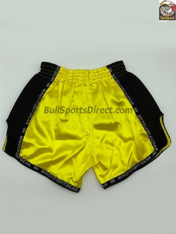 Windy-Shorts-Yellow-Muay Thai