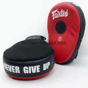 Fairtex FMV13 Focus Mitts-Black/Red