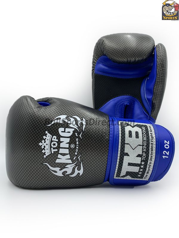Black and blue Top King Boxing Gloves Empower 02