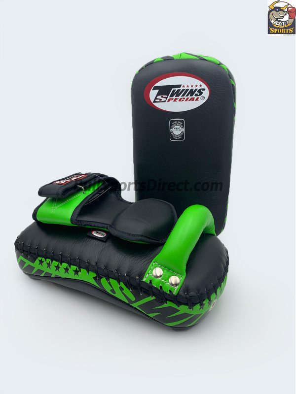 Twins Deluxe Kick Pads Black Green