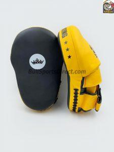 TopKing-TKFME Focus Mitts Extreme-Black/Yellow
