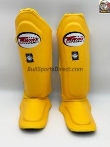 Twins Shin Pads-SGL-10 Yellow