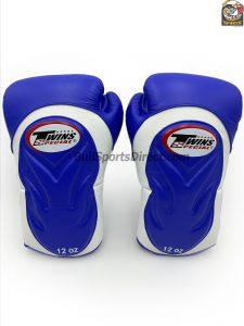 Twins Special BGVL 6 Boxing Gloves BGVL-6 White Blue