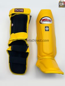 Twins Yellow Shin Pads-SGL-10
