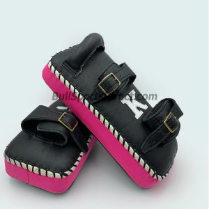 K-Kick Pads- Double Strap-Black Pink