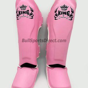 Pink Top King Pro Muay Thai Shin pads