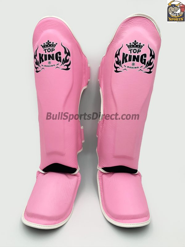 Pink Top King Pro Muay Thai Shin pads