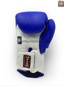 Twins BGVL-6 Sparring Gloves - White Blue