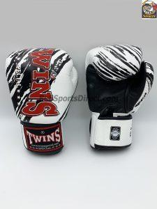 Twins FBGV-TW2 Fancy Boxing Gloves White Black