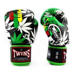 Twins Boxing Gloves-FBGV54-Grass Green