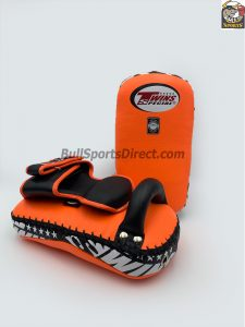 Twins-KPL-12 Deluxe Kicking Pads Orange Black