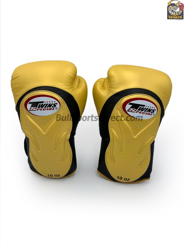 Twins BGVL-6 Boxing Gloves - Black and Gold