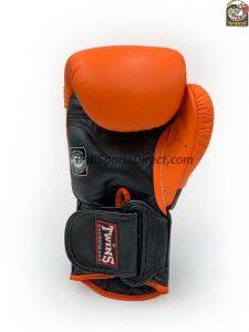 BGVL-6 Black Orange Sparring Gloves