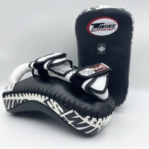Twins-KPL-12 Deluxe Kicking Pads-Black White