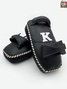 K-Kick Pads-Single Strap- Black