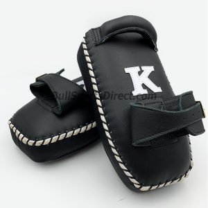 K-Kick Pads-Single Strap- Black