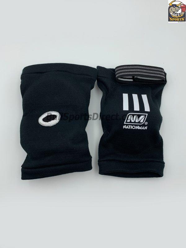 Nationman Black Elastic Elbow Protection-NMEP
