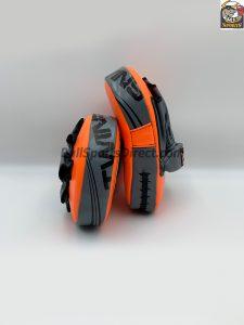 Twins Focus Mitts - PML10-Orange/Grey