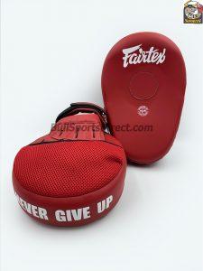 Fairtex FMV13 Maximized Focus Mitts-Solid Red