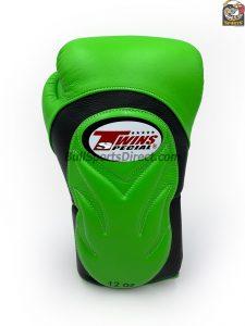 Twins Boxing Gloves BGVL 6 Black Green by Twins