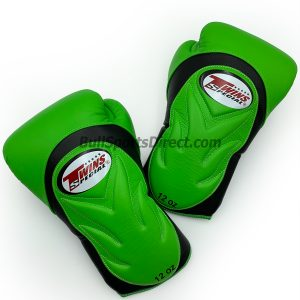 BGVL-6 Black Green Boxing Gloves