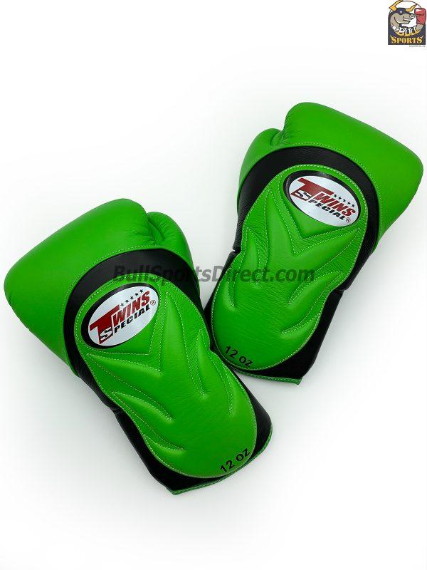 BGVL-6 Black Green Boxing Gloves
