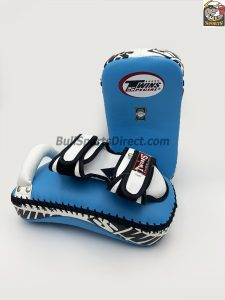 Twins Deluxe Kicking Pads Blue White