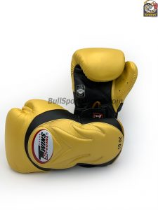 Twins BGVL-6 Black Gold Sparring Boxing Gloves