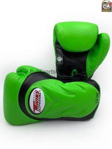 Twins BGVL-6 Black Green Sparring Gloves
