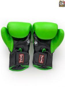 Twins BGVL-6 Black and Green Gloves