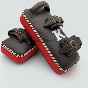 K-Kick Pads- Double Strap-Black Red
