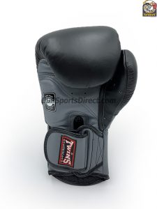 Twins BGVL-6 Grey Black Boxing Gloves