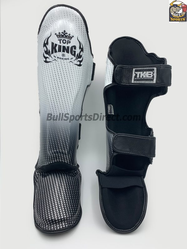 behind Pro Muay Thai shin pads Top King super star