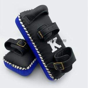 K-Kick Pads- Double Strap-Black Blue