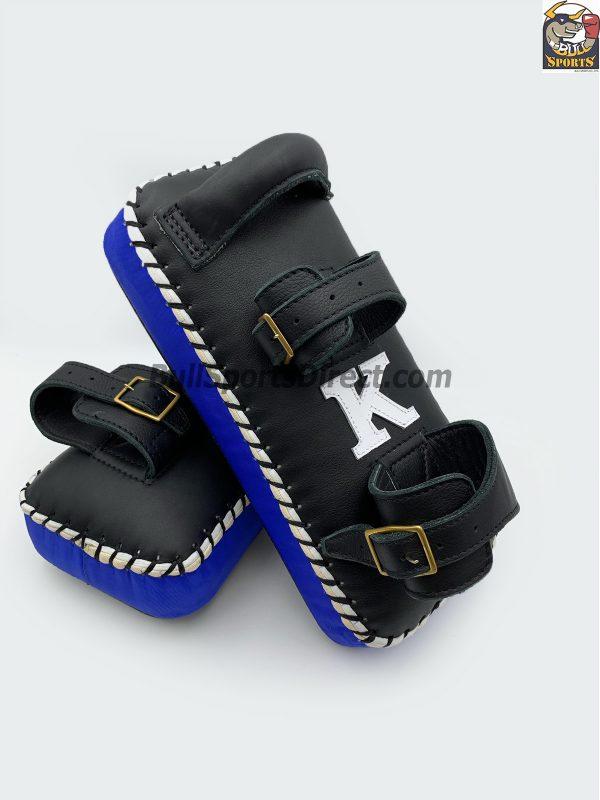 K-Kick Pads- Double Strap-Black Blue