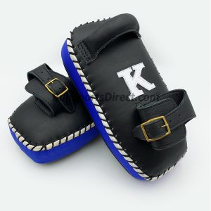 K-Kick Pads-Single Strap-Black Blue