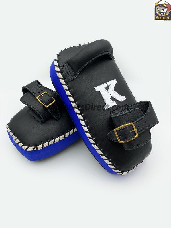 K-Kick Pads-Single Strap-Black Blue
