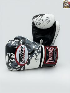 Twins FBGV-36 White Dragon Claws Boxing Gloves