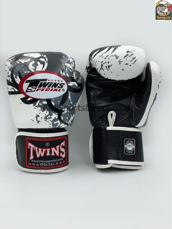 Twins Special Fancy Boxing Gloves FBGV-36 White